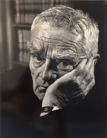 judge learned hand by philippe halsman