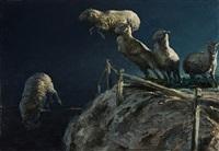 untitled (dark sheep) by matt brackett