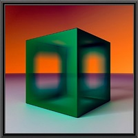 front cube by ronald davis