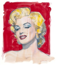 mm no. 5 (marilyn monroe) by olivia de berardinis