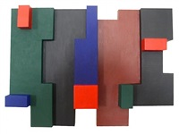 wall relief vii by alberto lenz