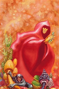 the jester at scar, ace double edition paperback cover by kelly freas