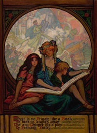 there is no frigate like a book by violet oakley