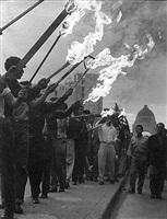 fuego. movimiento vallejista, masked men (pp# 1056 - a) by hector garcia cobo