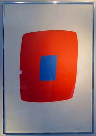 orange and blue by ellsworth kelly