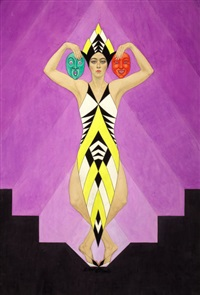 art deco dancer by carl link