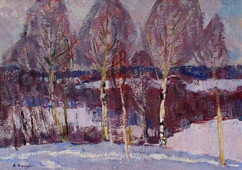 beginnings of winter by valerian formozov