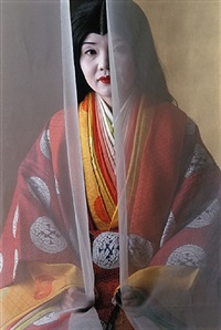 twelve-layered-kimono, kyoto, japan by cary wolinsky