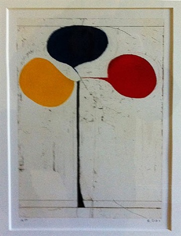 tri-color a/p by richard diebenkorn