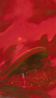 podkayne of mars, paperback cover by paul lehr