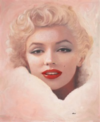 milk and honey, marilyn monroe by ron lesser