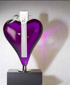 the purple heart by mauro perucchetti