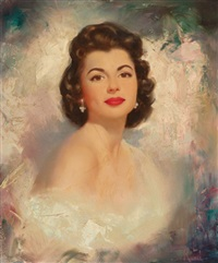 portrait of shirley phillips by edward runci