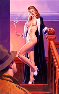 the black widow by greg hildebrandt