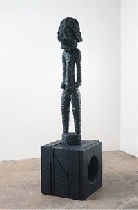 icky-bana (standing figure / nomo-onom) by nathan mabry