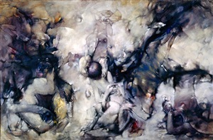 chiens de cythère (dogs of cythera) by dorothea tanning