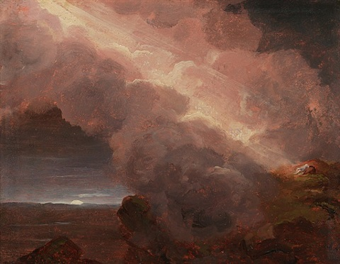 on the mountaintop by thomas cole