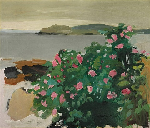 wild roses by fairfield porter