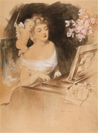 the piano lesson by henry hutt
