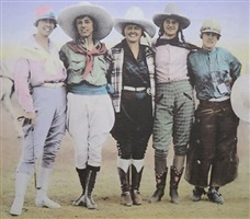 5 cowgirls by bob schrope wade