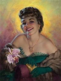 glamour portrait by zoe mozert