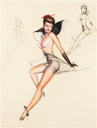 pin-up (study) by earl macpherson
