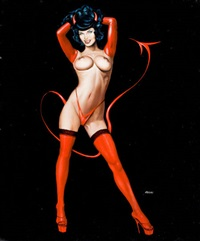 the devil in bettie page by ron lesser