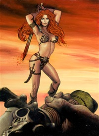 red sonja triumph by ron lesser