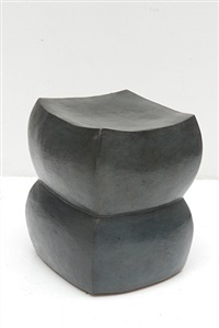 "double stool ""pebble"" by manuela zervudachi"