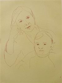 aus der serie 12 portraits by thomas schütte