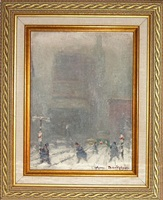 fifth avenue in new york city by johann berthelsen