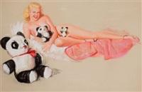 shaw-barton calendar company illus. by earl macpherson