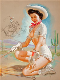 cowgirl by knute o. munson