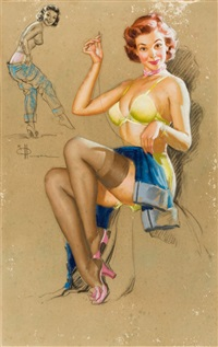 mending the jeans by knute o. munson