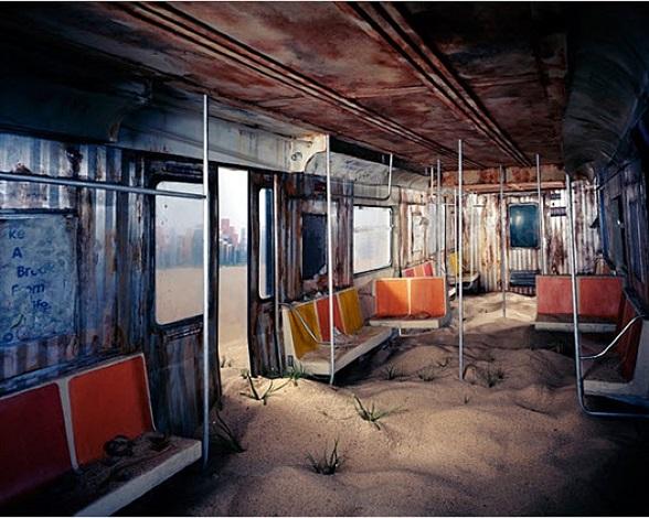 subway by lori nix