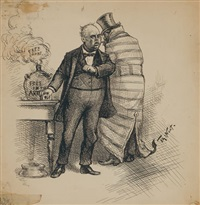 free smoke by thomas nast
