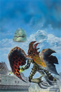 ora: cle, paperback cover by christopher foss