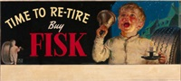 time to re-tire, buy fisk, tire advertisement by harold n. anderson
