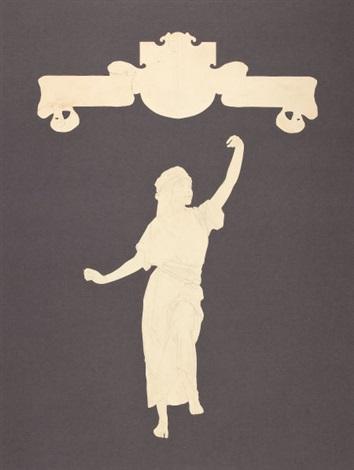 venetian lamplighter preliminary drawings for edison mazda calendar by maxfield parrish