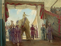 the circus pageant by victor coleman anderson