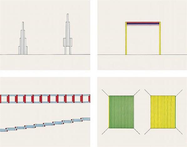 projects 1963-1996 by dan flavin