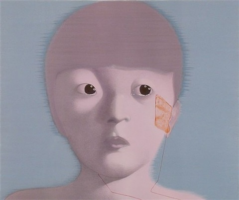 my memory no. 1 by zhang xiaogang
