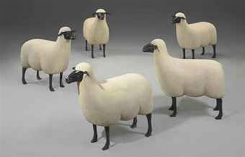 sheep by françois-xavier lalanne
