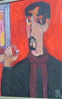 self portrait 3 by dang xuan hoa