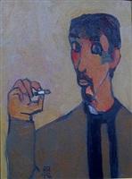 self portrait 4 by dang xuan hoa