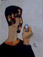 self portrait 5 by dang xuan hoa