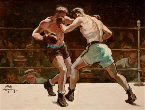 madison square garden the main event by albin henning