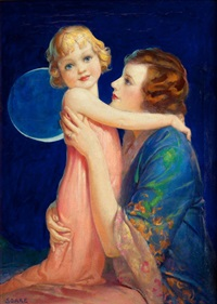 mother and child by william f. soare