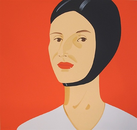 bathing cap, ada by alex katz