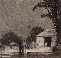 rural romance by franklin booth